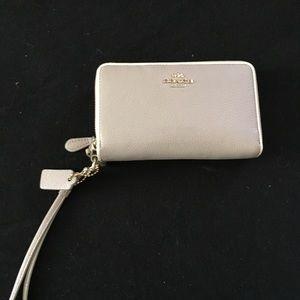 Authentic coach wallet/wristlet